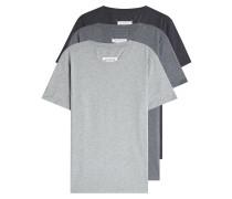 Set aus drei T-Shirt aus Baumwolle