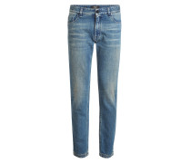 Straight Leg Jeans Jeans mit Patches