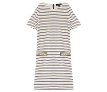 Gestreiftes Shirt-Dress aus Baumwolle