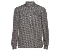 Bedruckte Bluse Loula aus Seide