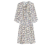 Bedrucktes Kleid Remus aus Seide