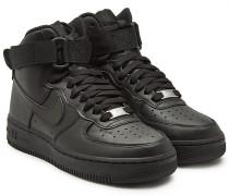 Sneakers Air Force 1 High Top Sneakers aus Leder