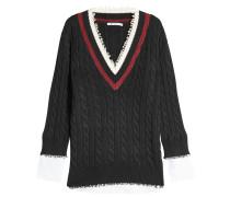 Pullover im Layer Look aus Baumwolle