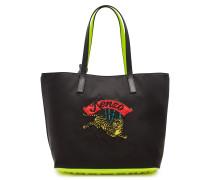 Bestickter Logo-Shopper