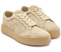 Sneakers Jean mit Veloursleder