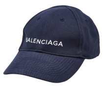 Bestickte Basecap aus Baumwolle