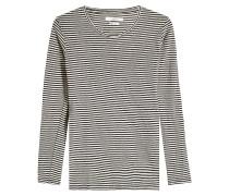 Gestreiftes Shirt Kaaron aus Leinen und Baumwolle