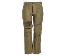 Destroyed Cargo Pants Bowie aus Baumwolle