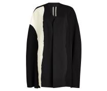 Cape-Jacke mit Wolle