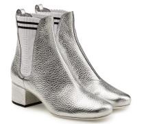 Chelsea Boots aus beschichtetem Leder