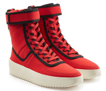 High Top Sneakers aus Textil