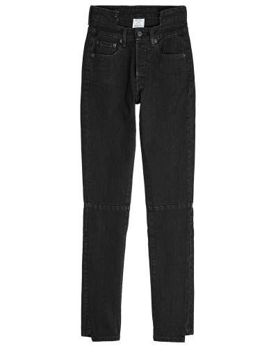X Levi's Skinny Jeans im Distressed Look