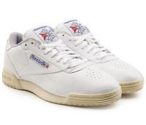 Low Top Sneakers Ex-O-Fit Vintage aus Leder