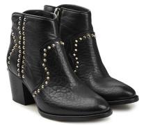 Verzierte Ankle Boots Molly aus Ziegenleder