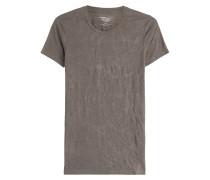 T-Shirt aus einer Leinenmischung