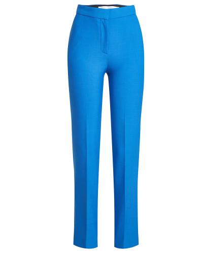 Straight Leg Pants mit Wolle