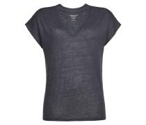 T-Shirt aus Leinen und Seide