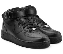 Sneakers Airforce 1 Mid 07 aus Leder