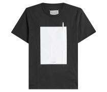 T-Shirt aus Baumwolle mit Kugelschreiber