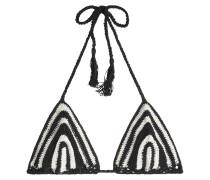 Bikini-Top aus Häkelstrick