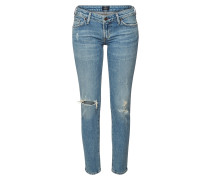 Destroyed Low Rise Skinny Jeans Racer