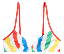 Gestreiftes Bikini-Top The Brigitte