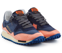 Sneakers Starland aus Veloursleder und Stoff
