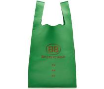Bedruckter Leder-Shopper Supermarket