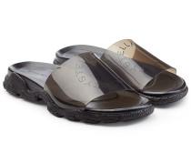 Sandalen mit transparentem Riemen
