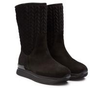H222 New Winter Boots mit Veloursleder und Samt