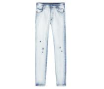 Jeans im Distressed Look