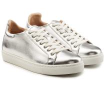 Sneakers Bibi aus beschichtetem Leder
