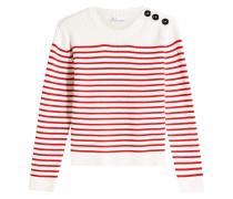 Gestreifter Pullover aus Baumwolle