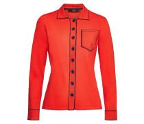 Besticktes Poloshirt aus Jersey