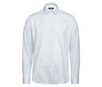 Gestreiftes Regular-Fit-Hemd Elliott aus Baumwolle