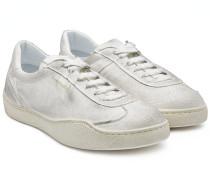Sneakers Lars Tumbled aus Leder im Used-Look