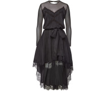 Semi-transparentes Kleid aus Seide