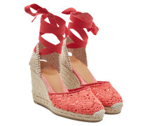 Wedge-Espadrilles Carina 80 aus Canvas