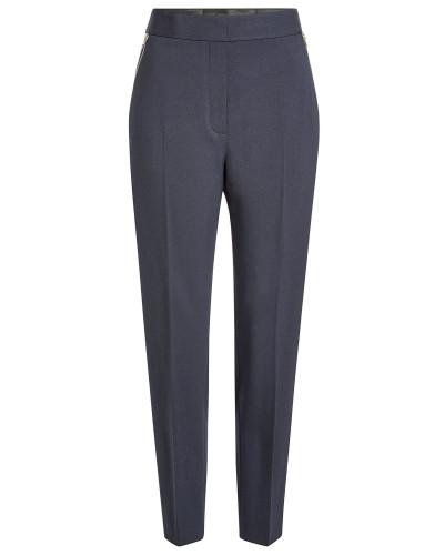 Straight Leg Pants mit Schurwolle