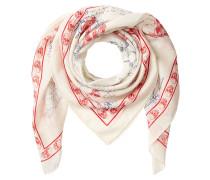 Bedruckter Schal mit Baumwolle