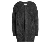 Offener Cardigan mit Wolle
