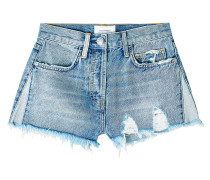 Distressed High Waist Shorts The Ultra