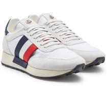 Sneakers Horace mit Veloursleder und Mesh
