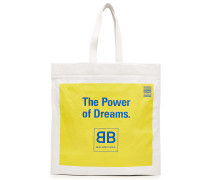 Bedruckter Shopper Dreams aus Leder