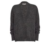 V-Neck-Pullover aus Alpakawolle