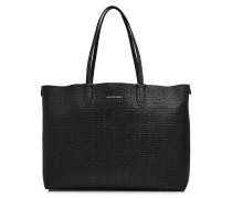 Handtasche Medium Shopper aus strukturiertem Leder