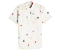 Gepunktetes Hemd aus Baumwolle