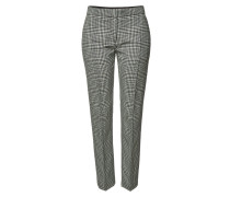 Slim Pants Hanover aus Wolle mit Hahnentrittmuster