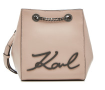 Bucket-Bag K/Signature aus Leder
