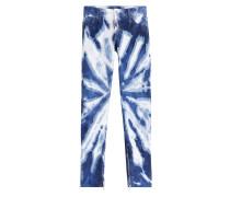 Batik-Jeans aus Baumwolle